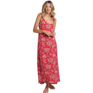 Billabong Beyond Golden Maxi red floral Dress